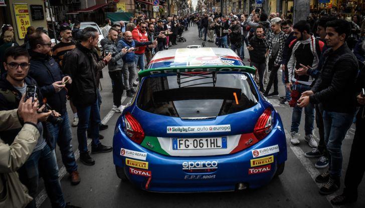 Paolo Andreucci (Peugeot 208 T16) soddisfatto della gara al Targa Florio - Foto 2 di 2
