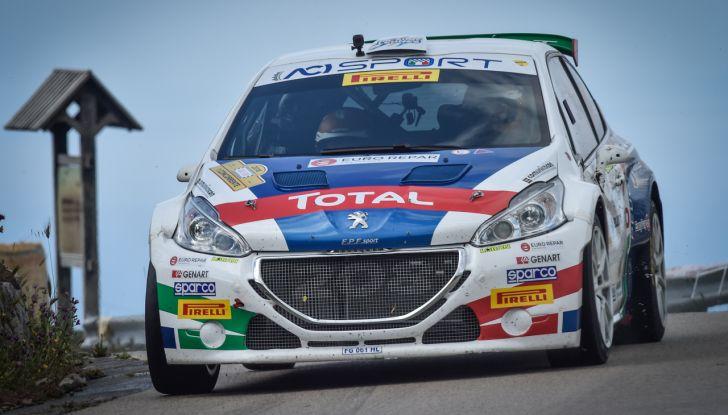 Paolo Andreucci (Peugeot 208 T16) soddisfatto della gara al Targa Florio - Foto 1 di 2