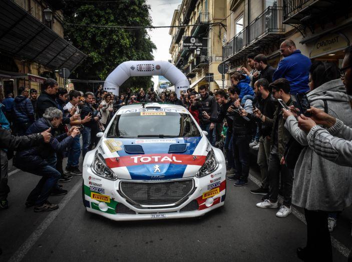 Peugeot sul secondo gradino del podio al Targa Florio 2018 - Foto 2 di 6