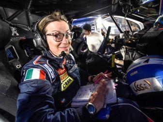Voce a Paolo Andreucci (Peugeot 208 T16) prima della gara siciliana