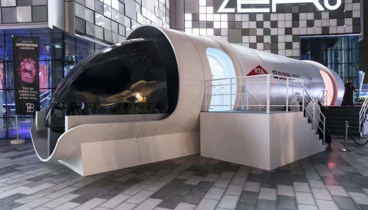 BMW Designworks e la capsula Hyperloop per viaggi di lusso - Foto 1 di 9