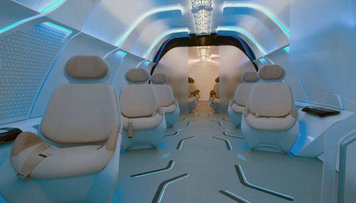 BMW Designworks e la capsula Hyperloop per viaggi di lusso - Foto 6 di 9