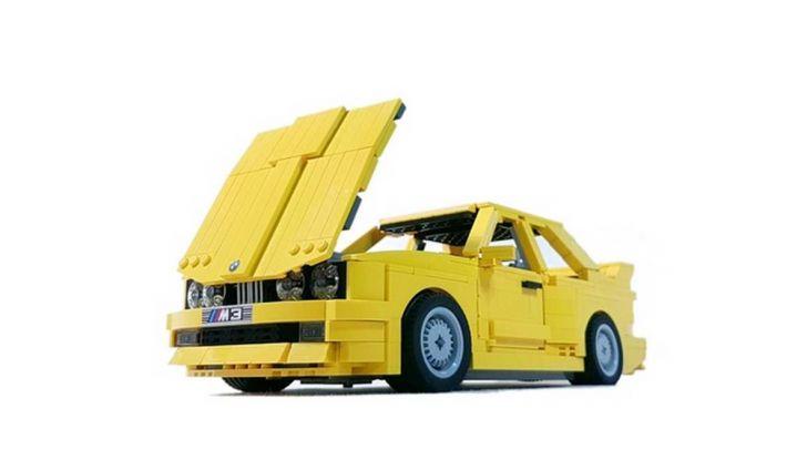 BMW M3 E30 in Lego, la sportiva fatta di mattoncini - Foto 2 di 18