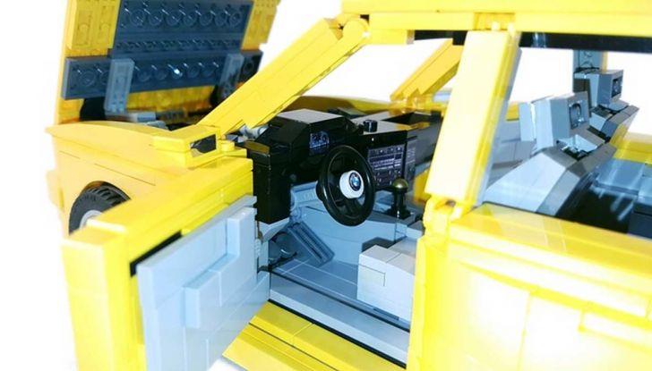 BMW M3 E30 in Lego, la sportiva fatta di mattoncini - Foto 18 di 18