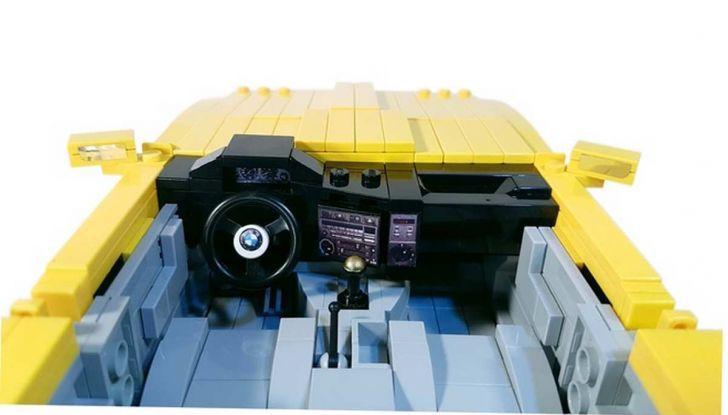 BMW M3 E30 in Lego, la sportiva fatta di mattoncini - Foto 4 di 18
