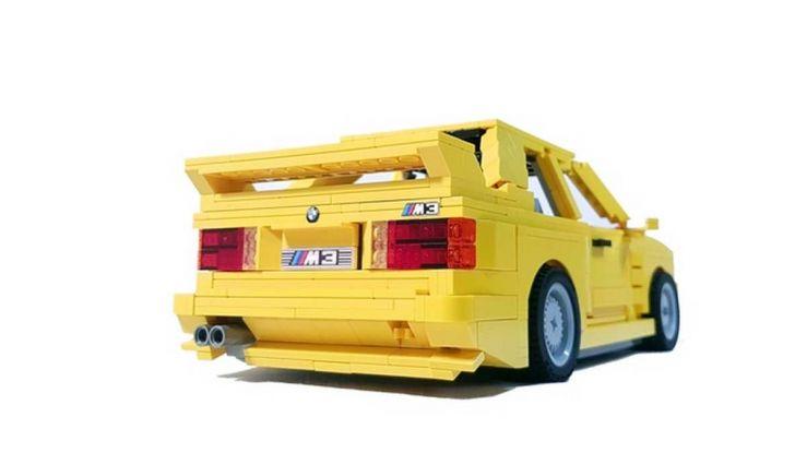 BMW M3 E30 in Lego, la sportiva fatta di mattoncini - Foto 5 di 18