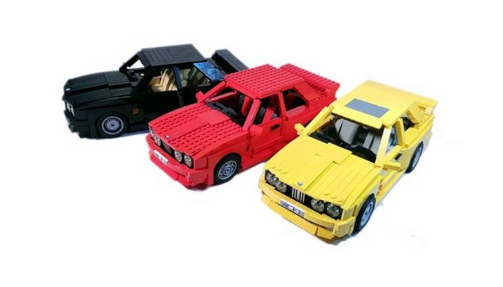 BMW M3 E30 in Lego, la sportiva fatta di mattoncini - Foto 1 di 18