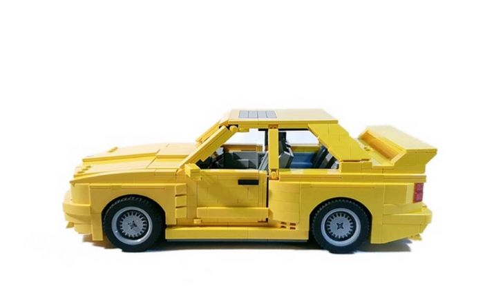 BMW M3 E30 in Lego, la sportiva fatta di mattoncini - Foto 6 di 18