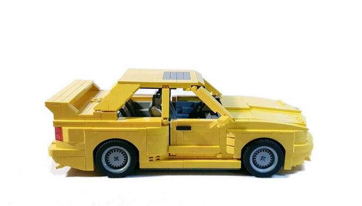 BMW M3 E30 in Lego, la sportiva fatta di mattoncini - Foto 8 di 18