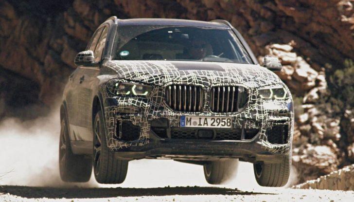 Nuova BMW X5: test e immagini ufficiali della nuova generazione - Foto 1 di 8