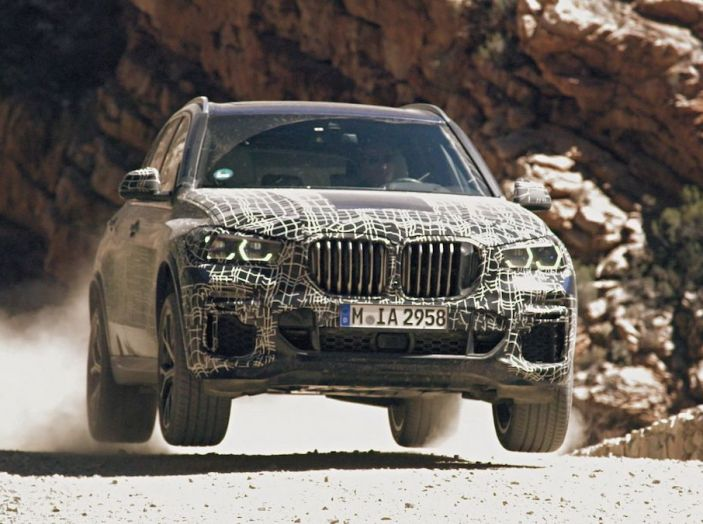 Nuova BMW X5: test e immagini ufficiali della nuova generazione - Foto 8 di 8