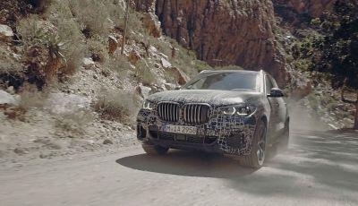 Nuova BMW X5: test e immagini ufficiali della nuova generazione