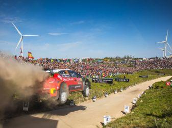 WRC Portogallo 2018: tre C3 WRC schierate dal team Citroën.