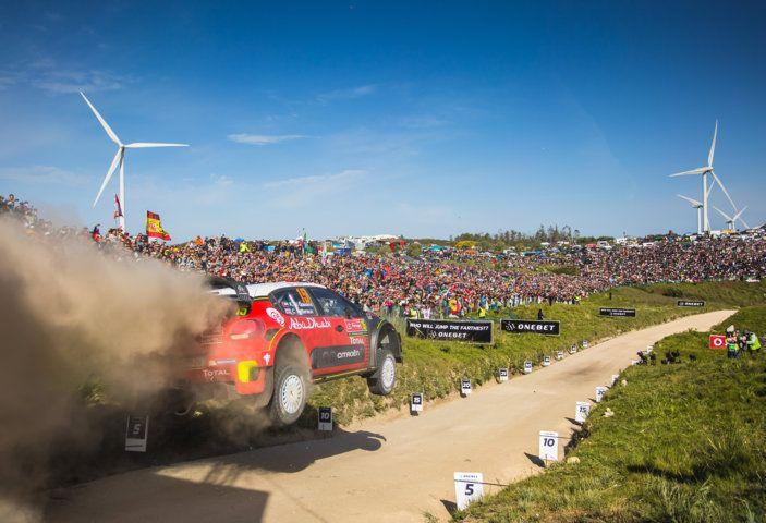 WRC Portogallo 2018: tre C3 WRC schierate dal team Citroën. - Foto 1 di 1