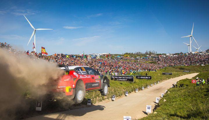 WRC Portogallo 2018: tre C3 WRC schierate dal team Citroën. - Foto  di