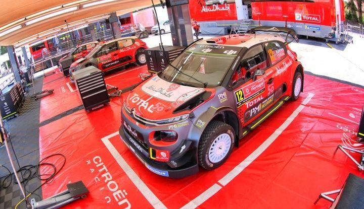 WRC 2018 Portogallo: le tre Citroën C3 pronte allo Shakedown - Foto 1 di 5