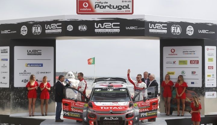 WRC Portogallo 2018: ottimo risultato per la C3 R5 - Foto 2 di 2