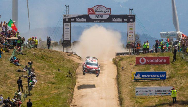 WRC Portogallo 2018: il bilancio del team Citroën - Foto  di