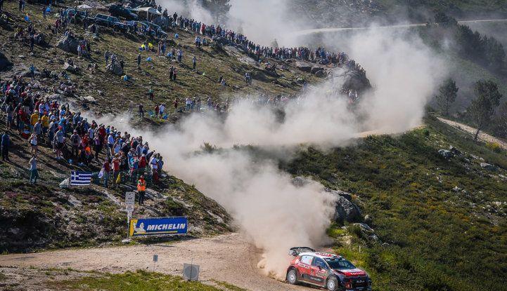 WRC Portogallo 2018 – Giorno 2: il team Citroën vicino alla TOP 5 - Foto 1 di 4