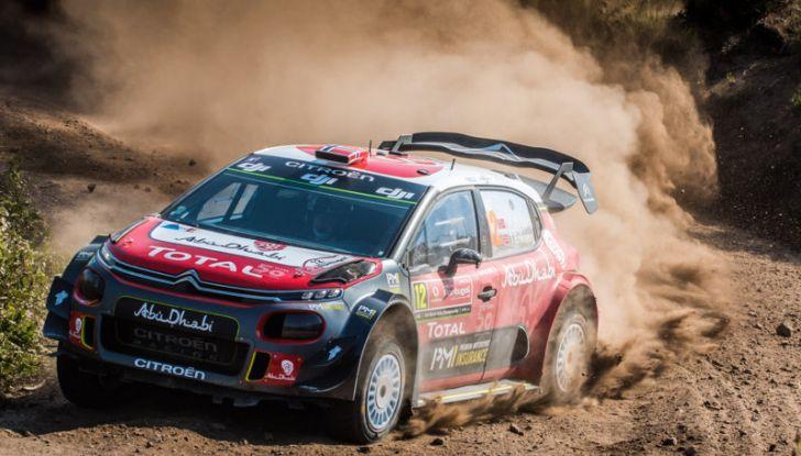 WRC Portogallo 2018 – Giorno 2: il team Citroën vicino alla TOP 5 - Foto 3 di 4