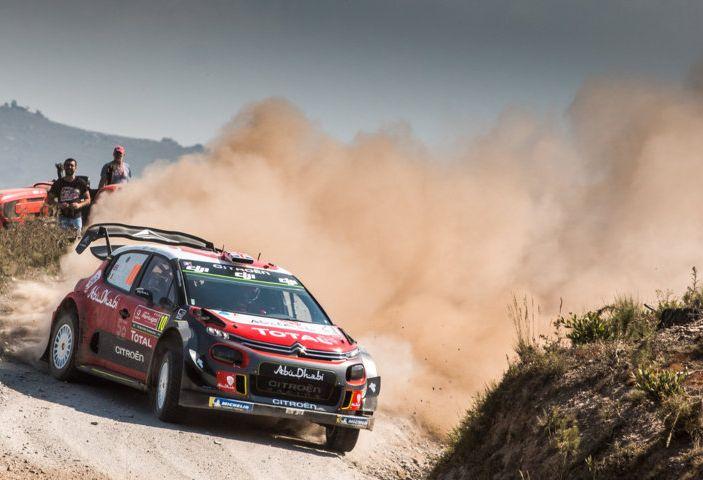 WRC Portogallo 2018 – Giorno 2: il team Citroën vicino alla TOP 5 - Foto 4 di 4