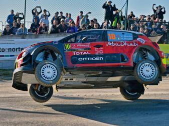 WRC Portogallo 2018 – uno shakedown utile per il team Citroën