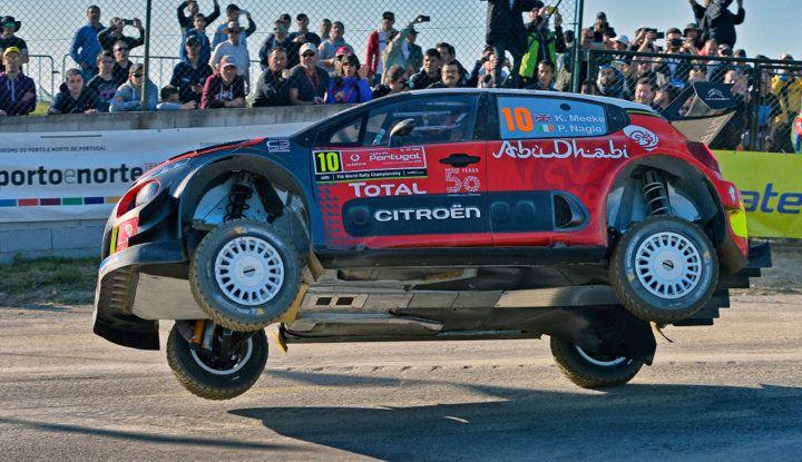 WRC Portogallo 2018 – uno shakedown utile per il team Citroën - Foto  di