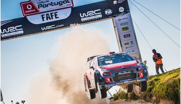 WRC Portogallo Giorno 3: sesto e settimo posto per due C3 WRC - Foto 1 di 5