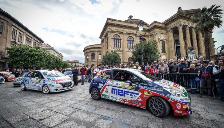 Peugeot Competition TOP 208 – Al Targa Florio vince Ciuffi - Foto 2 di 8