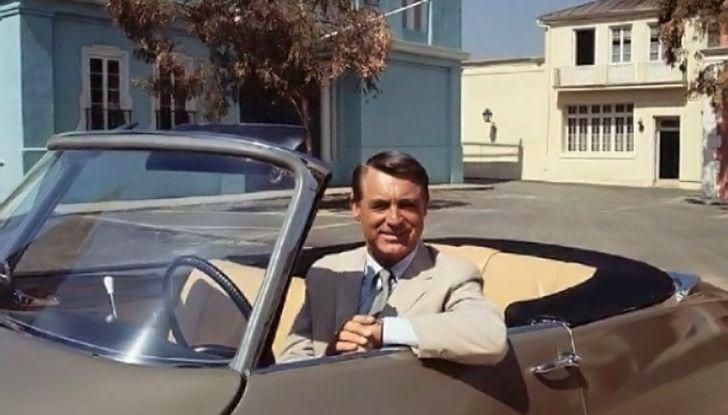 Una DS19 Cabriolet a Hollywood - Foto 1 di 5