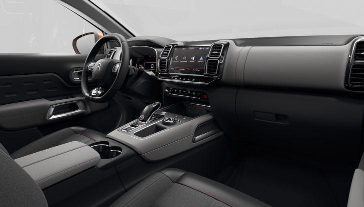 Citroen C5 Aircross: debuttano ibrido plug-in e sospensioni idrauliche - Foto 16 di 16