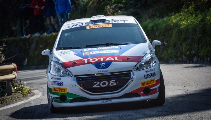 """Damiano De Tommaso (Peugeot 208 R2B ufficiale) è """"carico"""" per il Targa Florio - Foto 1 di 2"""