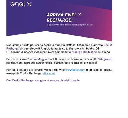 Enel passa da e-go ad Enel X con tariffe promo più care delle precedenti per le Fast - Foto 2 di 9