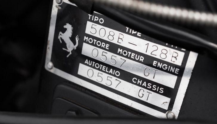 Ferrari 250 GT Tour de France all'asta da 9 milioni di Euro - Foto 6 di 15