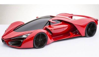 Ferrari F80 Concept: l'erede della Ferrari LaFerrari?