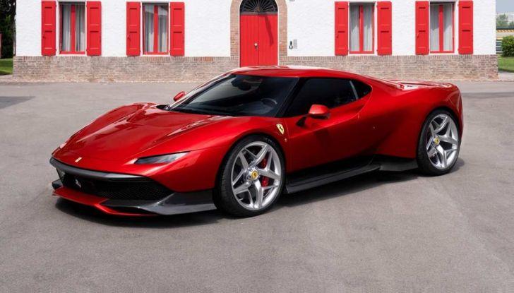 Ferrari SP38, one-off su meccanica 488 GTB - Foto 1 di 5