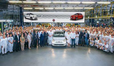 Fiat 500, prodotto l'esemplare numero 2.000.000 della citycar