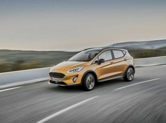 Ford Fiesta Active 2018, la compatta in versione crossover urbano - Foto 4 di 13