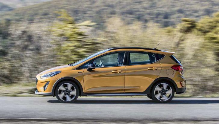 Ford Fiesta Active 2018, la compatta in versione crossover urbano - Foto 11 di 13