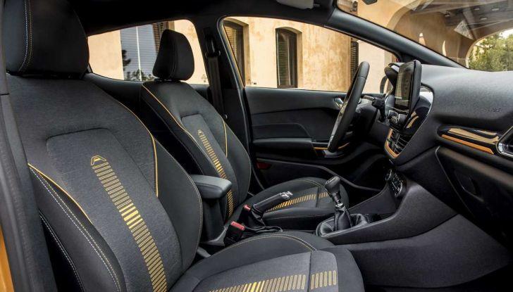 Ford Fiesta Active 2018, la compatta in versione crossover urbano - Foto 12 di 13