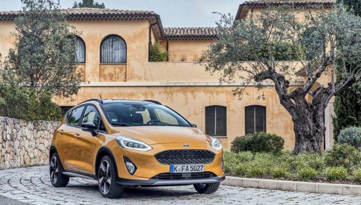 Ford Fiesta Active 2018, la compatta in versione crossover urbano - Foto 2 di 13