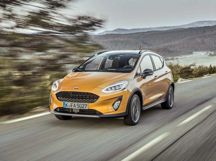 Ford Fiesta Active 2018, la compatta in versione crossover urbano - Foto 1 di 13