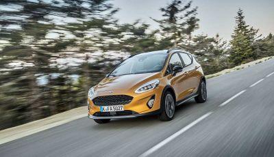 Ford Fiesta Active 2018, la compatta in versione crossover urbano