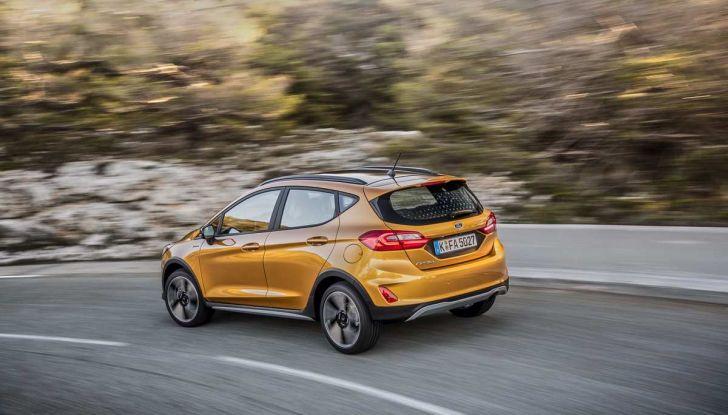 Ford Fiesta Active 2018, la compatta in versione crossover urbano - Foto 10 di 13