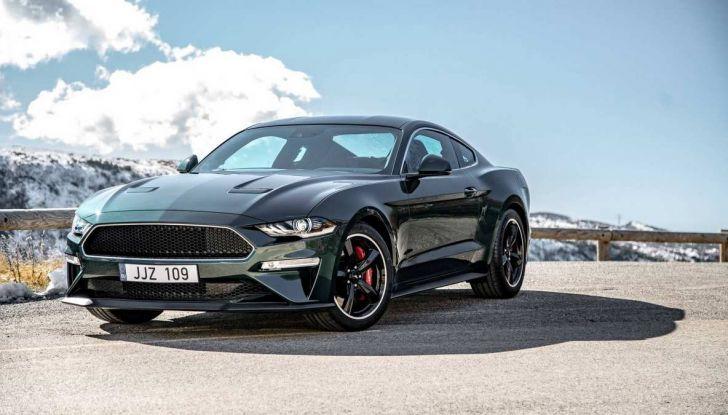 Ford Mustang Bullitt, 57.400 euro e 68 esemplari per l'Italia - Foto 15 di 18