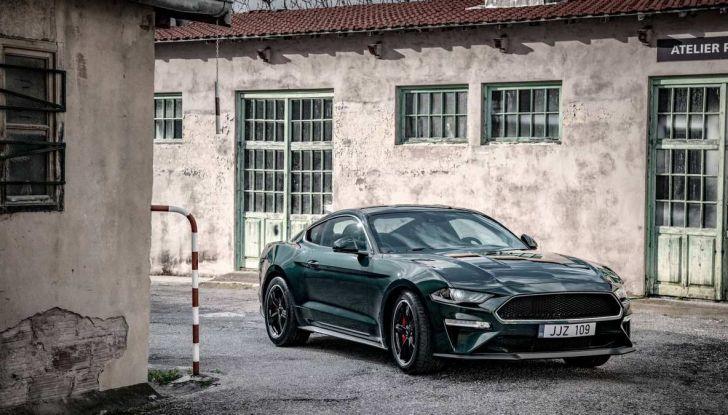 Ford Mustang Bullitt, 57.400 euro e 68 esemplari per l'Italia - Foto 16 di 18