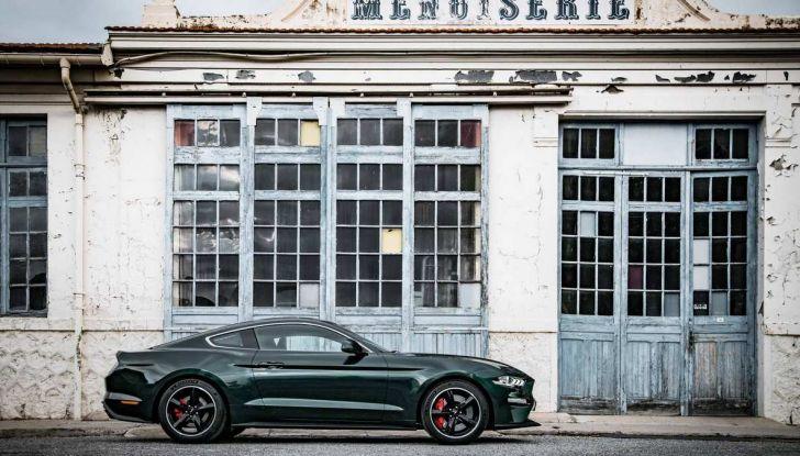 Ford Mustang Bullitt, 57.400 euro e 68 esemplari per l'Italia - Foto 4 di 18