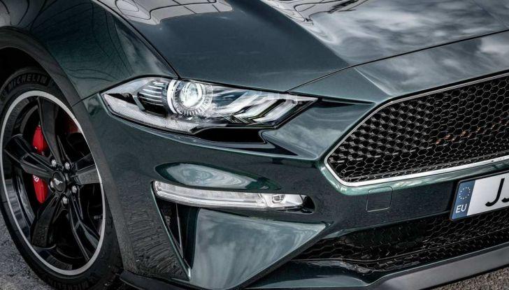 Ford Mustang Bullitt, 57.400 euro e 68 esemplari per l'Italia - Foto 6 di 18
