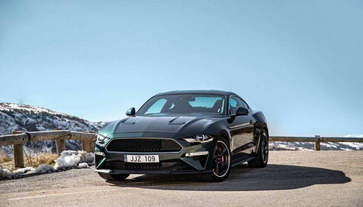 Ford Mustang Bullit provata sulle strade dell'Isola di Man - Foto 13 di 18