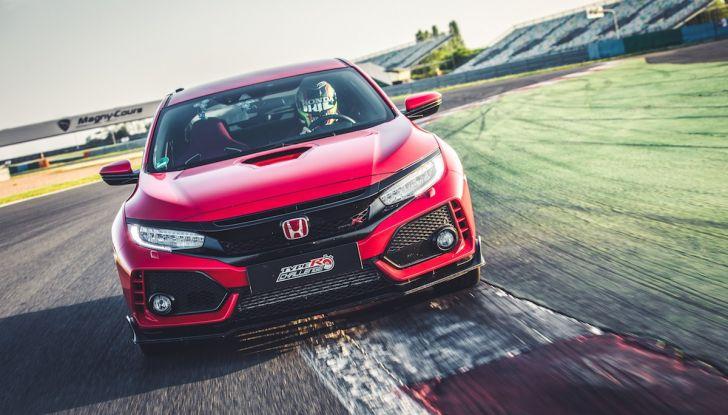 Honda Civic Type R 2018 da record a Magny-Cours, continua il Challenge! - Foto 2 di 6